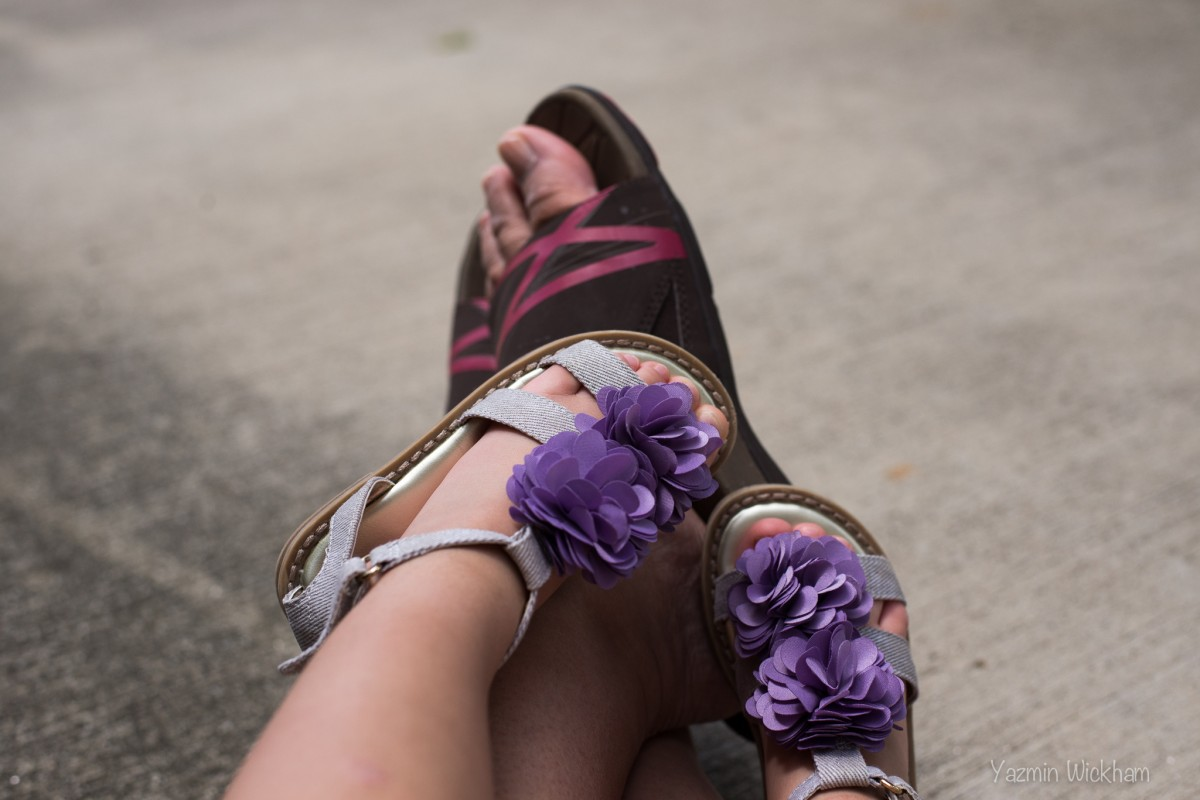 {173/365} Sandal weather