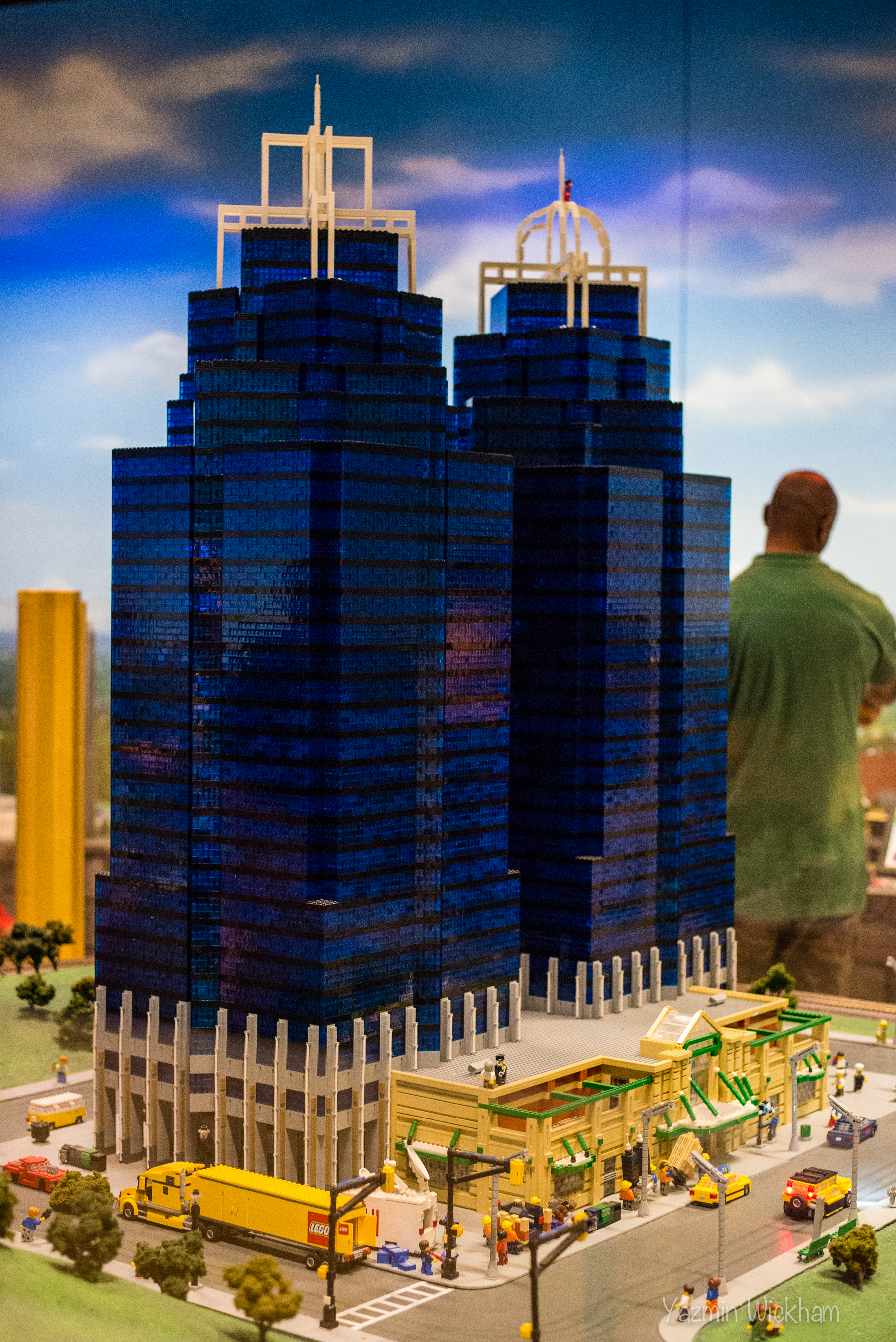 Lego King and Queen Towers