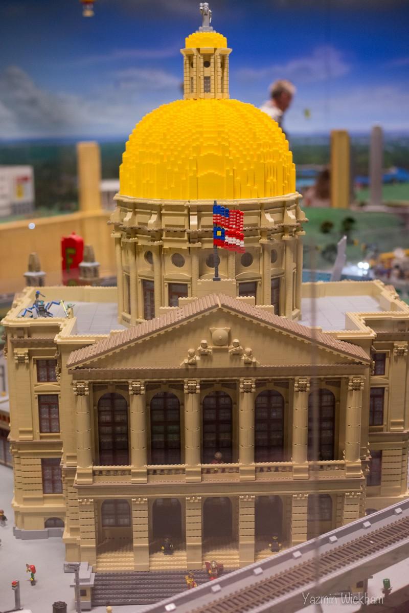 Lego Georgia State Capitol
