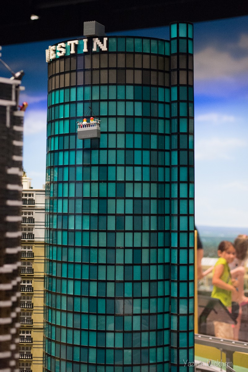 Lego Westin Hotel with window washers