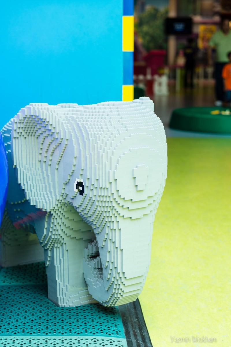 Lego elephant in DUPLO section