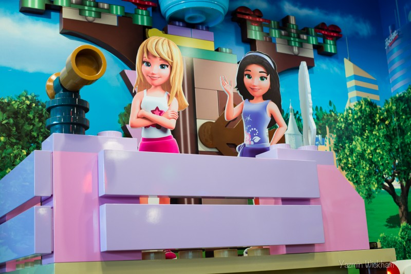 Lego Friends area