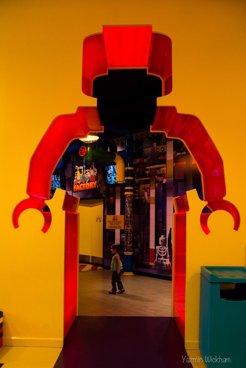 Entering LegoLand