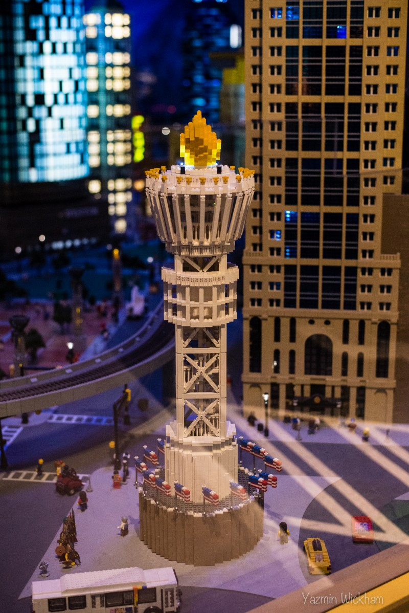 Lego Atlanta Olympic Torch