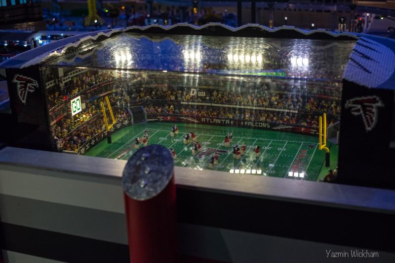 Lego Georgia Dome