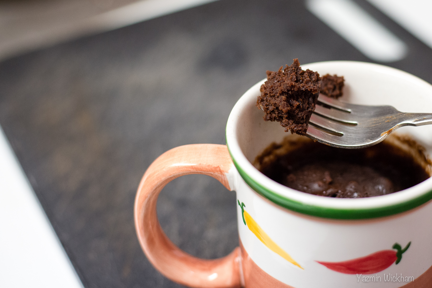 {282/365} Brownie in a mug!