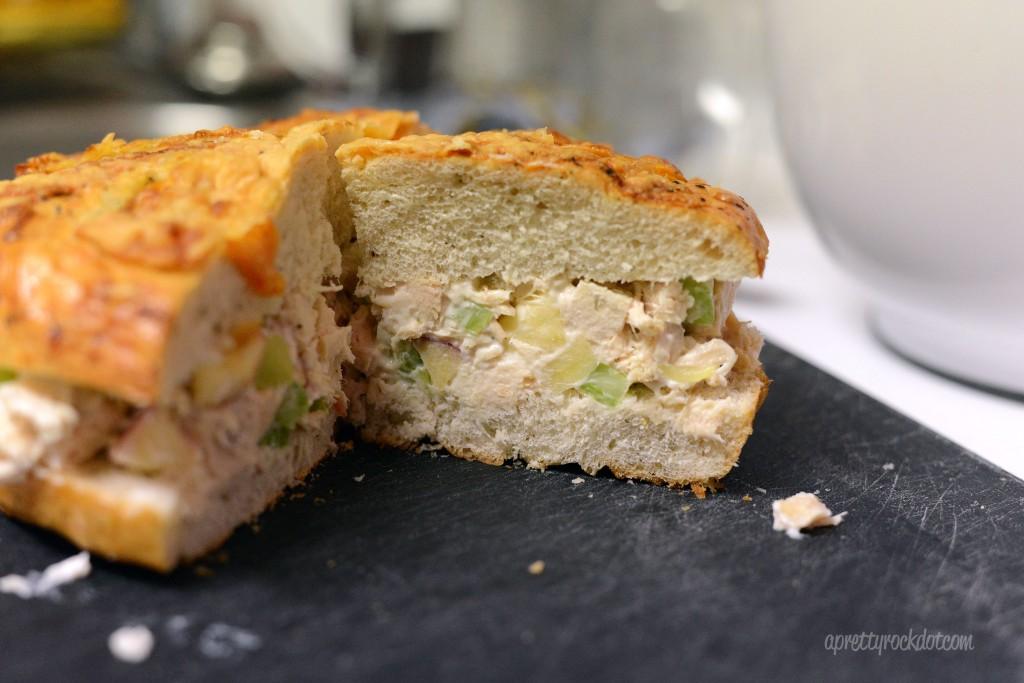 {29/365} Yummy Chicken Salad Sandwich