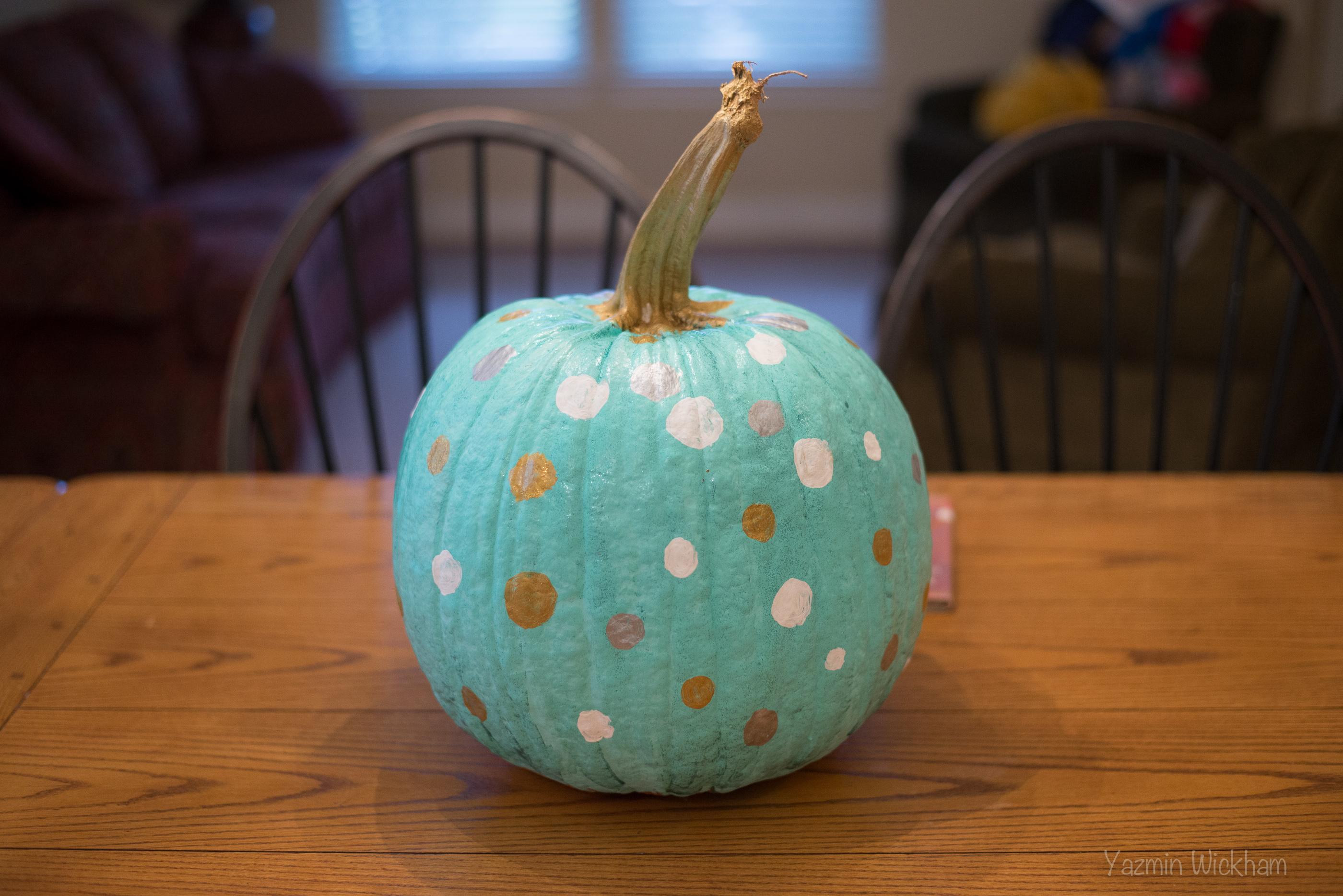 {292/365} Pretty mod pumpkin