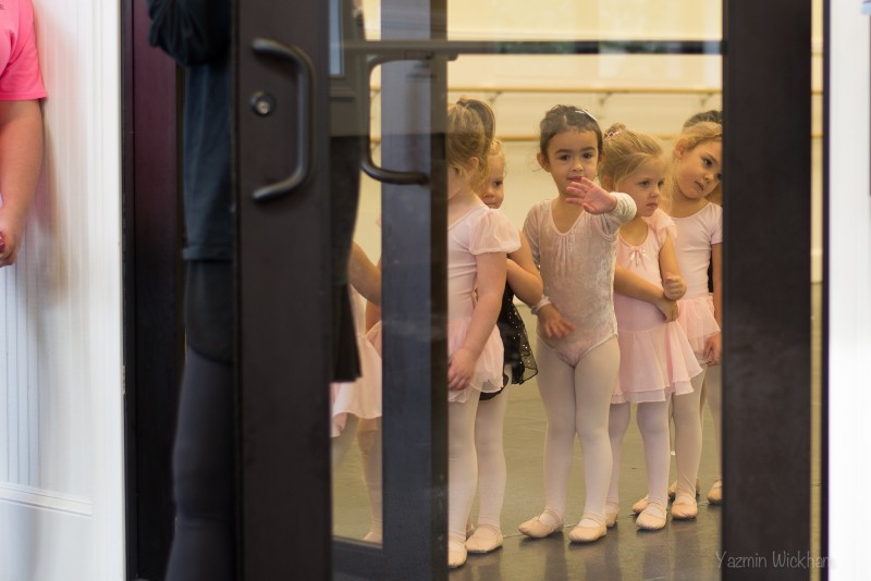 {338/365} Lined up to leave at ballet