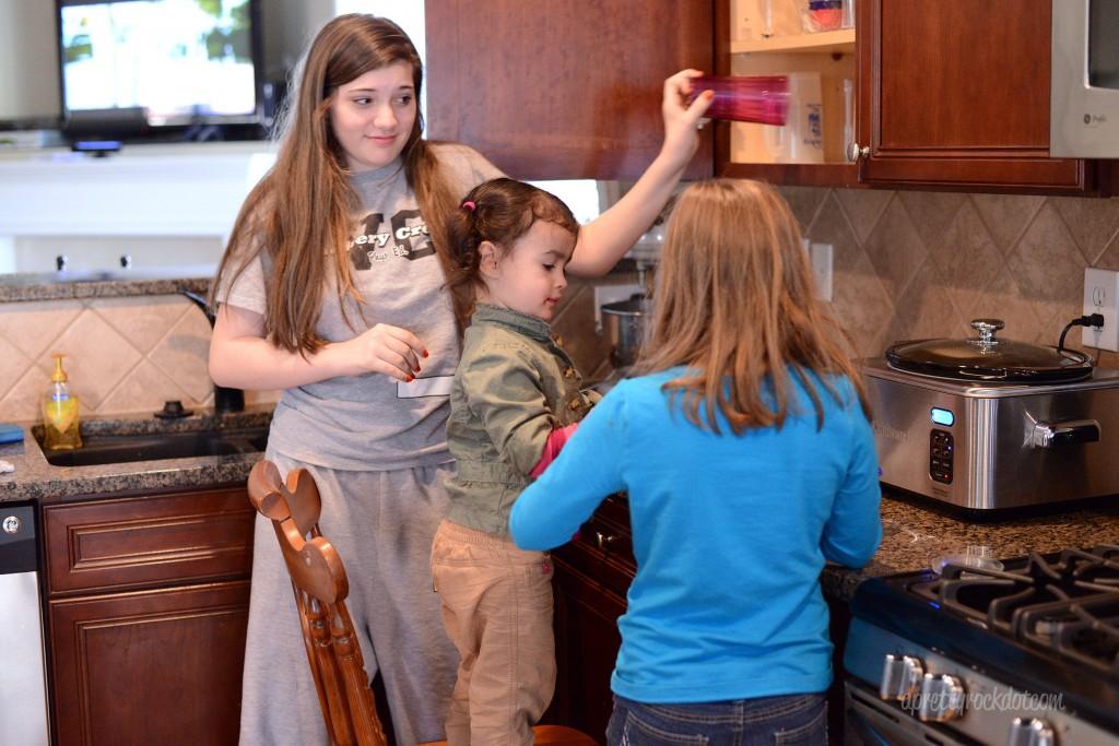 {34/365} Making breakfast with cousins