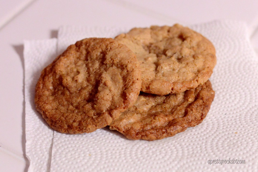 {52/365} Flourless peanut butter cookies... yum