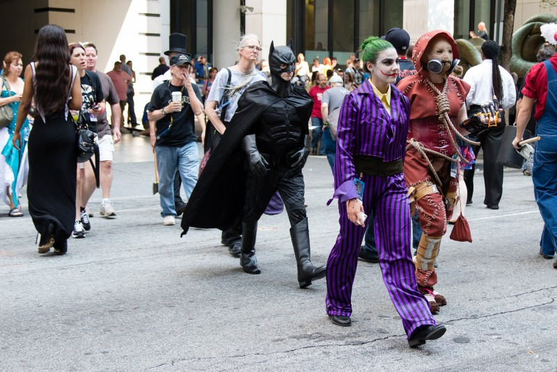 Scarecrow, The Joker & Batman
