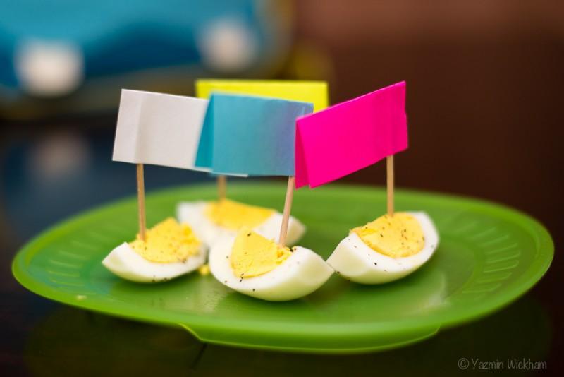 Wordless Wednesday: Egg Boats